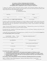Voluntary Child Support Agreement Form California Louisiana