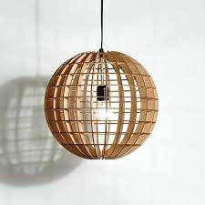 wooden pendant lamp wood light shade