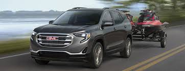 2018 gmc suv. delighful gmc the 2018 terrain compact suv towing 2 personal watercrafts and gmc suv i