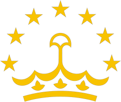 Флаг Таджикистана Википедия Стилизованная корона с полукругом из семи звёзд