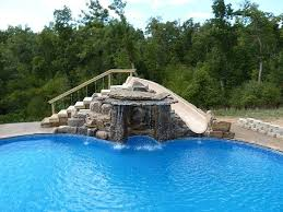 inground pools with waterfalls. Contemporary Waterfalls Back Inground Pools Waterfalls Slides Baxters Homes 121342 On With A