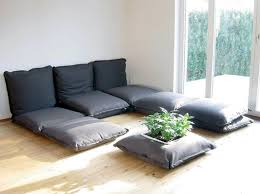 Marvellous Floor Cushion Sofa Pics Decoration Ideas