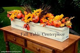 ... fall table centerpiece