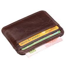 samsonite saffiano money clip credit card holder case mens leather wallet black for