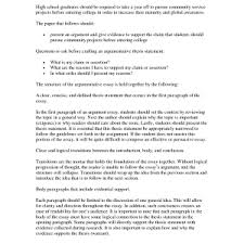 thesis statement for an argumentative essay thesis example   thesis for argumentative essay examples how to write a good argument essay resume examples and