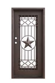 texas star 38 5 81 left or right swing wrought iron door