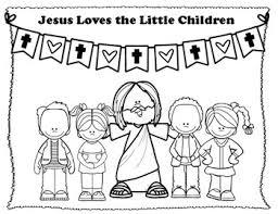 John the baptist baptizes jesus. Jesus Loves Me Coloring Pages Worksheets Teaching Resources Tpt