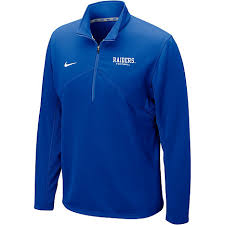 nike 1 4 zip pullover. nike middle tennessee state university raiders football dri-fit training 1/4 zip fleece pullover 1 4