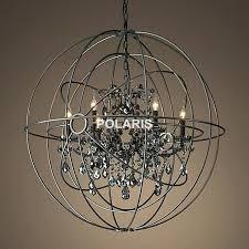 orb light chandelier plus free vintage orb crystal chandelier lighting black candle chandeliers pendant hanging