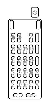 mazda 626 2002 fuse box diagram auto genius mazda 626 2002 fuse box diagram