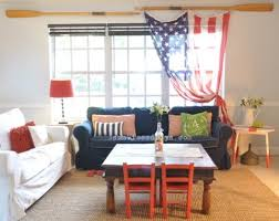 decor red blue room full: patriotic decorating ideas in red white and blue completely coastal