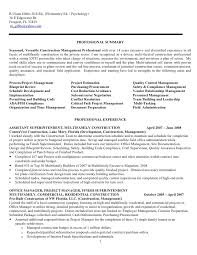 Project Specialist Sample Resume