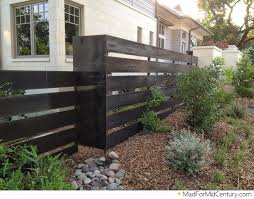 Terrific Modern Fence Ideas 2016 Mad For Mid Century: Mid Century Modern  Fence Ideas From Austin