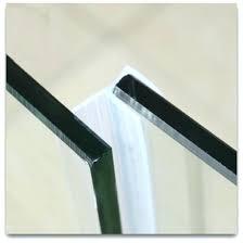 shower door water seal strip door water stopper draught weatherstrip draft stopper sealing strip glass screen shower door water