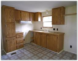 Remodeling Kitchen Cabinets In A Mobile Home