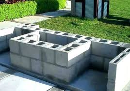 plans free outdoor fireplace construction plans brick for
