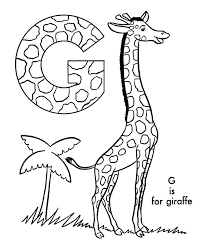 Coloring Page Giraffe Coloring Pages Printable Coloring Activity