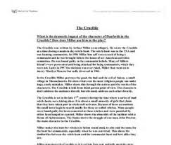 the crucible danforth essay  the crucible danforth essay