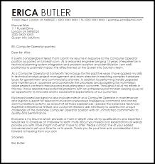 Computer Engineering Cover Letters Computer Operator Cover Letter Sample Cover Letter