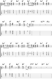 Satin Doll Easy Arrangement For Guitar Chord Study