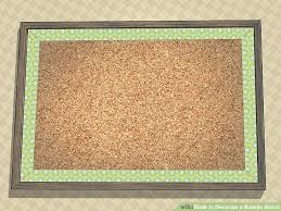 image titled decorate. Decorate A Cork Board Image Titled Bulletin Step Office R