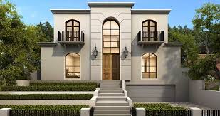 Design House with Classical Architecture 8