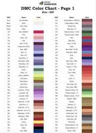 Dmc Color Chart List Best Free Printable Dmc Color Chart Garza S Blog