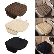 winter plush anti slip car seat cover lattice cushion