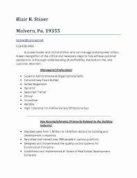 Personal Statement Examples For Resumes