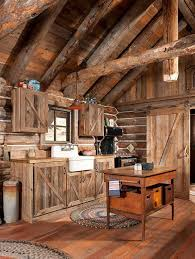 dead gorgeous log cabin gorgeous rustic log cabin kitchen from off grid world