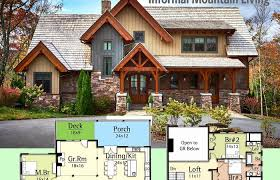 lake house plans walkout basement awesome craftsman ranch with luxury home foursquare home plans walkout
