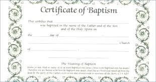 Free Editable Certificate Templates For Word Awesome Water Baptism Certificate Template Awesome Baptism Certificates