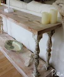 diy sofa table. DIY French Country Sofa Table - Absolutely Love This And Have Been Wanting A Diy B