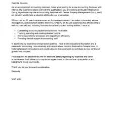 Best Accounting Assistant Cover Letter Examples Livecareer With Awesome Live Carreer