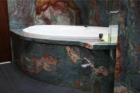 van gough granite bath wall tub surround
