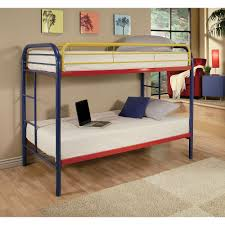 ACME Furniture Thomas Twin Over Twin Metal Kids Bunk Bed-02188RNB ...