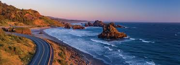 Pacific Coast Scenic Byway Pacific Coast Highway Oregon