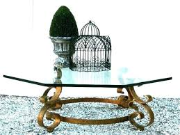 wrought iron glass top coffee table wrought iron coffee tables glass and iron coffee table glass wrought iron glass top