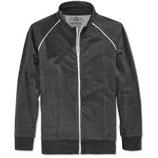 mens clothing american rag new gray mens size medium m full zip fleece track jacket