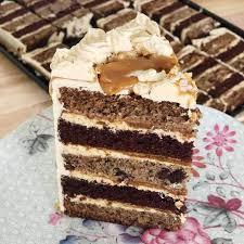 Caramelised Banana And Chocolate Layer Cake London