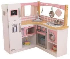 kidkraft home indoor decorative kids pretty girls grand gourmet corner kitchen