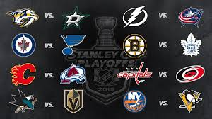 Hockey Playoff Standings Chart Stanley Cup Playoffs First Round Schedule