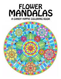 Small Picture Flower Mandalas Adult Coloring Book printable mandala