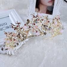 pearl rhinestone headband wedding hair