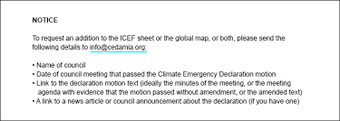 Emergency List Climate Emergency Declarations In 1 191 Jurisdictions And