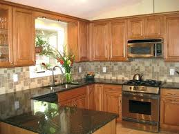 20 lovely cherry kitchen cabinets with black granite countertops