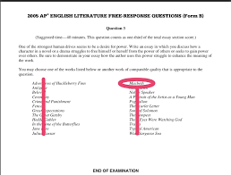ap lit essay what ap readers long to see  ap english literature and composition 2012 scoring ap central