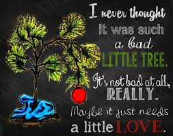 11x14 A Charlie Brown Christmas Quote Printable by ...