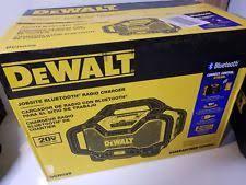 dewalt radio dcr025. dewalt dcr025 blue tooth radio charger brand new in the box dcr025 e