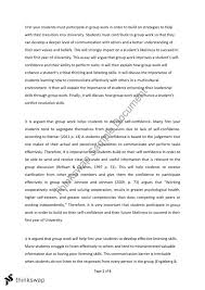 essay on group work okl mindsprout co essay on group work